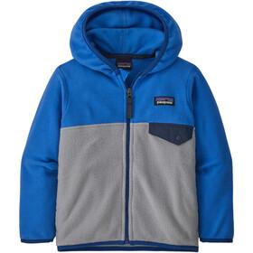 Patagonia Micro D Snap-T Jacket Kids salt grey